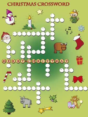 crossword puzzle: christmas crossword