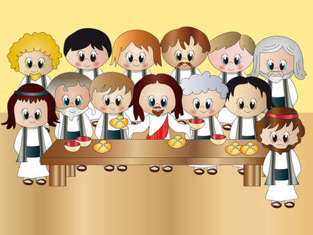 last supper photo