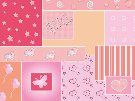 staple: baby background