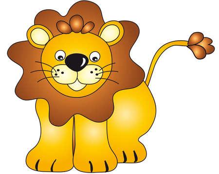 plains: lion Stock Photo