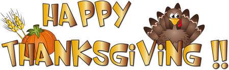tom turkey: happy thankgiving