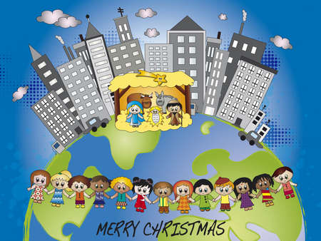 nativity in the world Stock Photo - 16471281