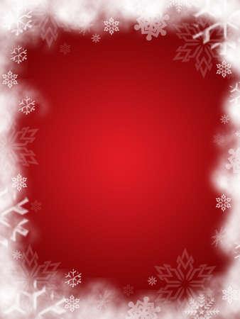 mas: christmas frame