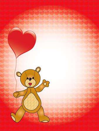 teddy bear love photo