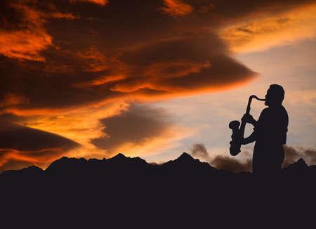 sax: musician