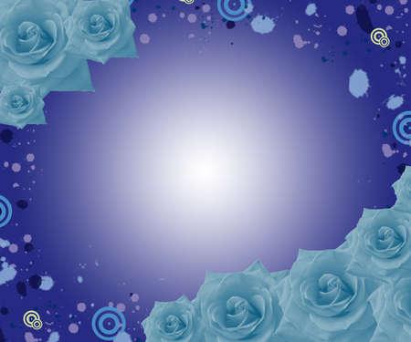 lilium: flower background Stock Photo