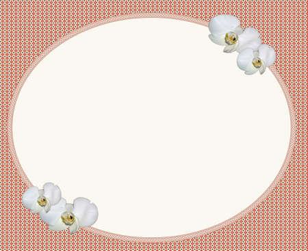 lilium: flower frame