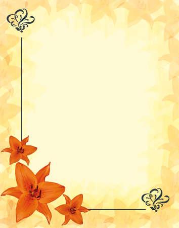 flower corner Stock Photo - 17094023