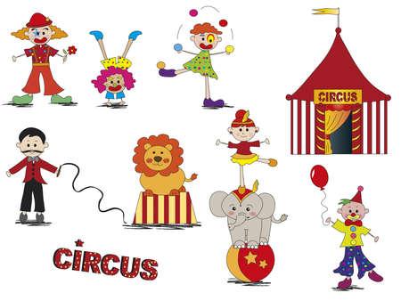 circus set  photo