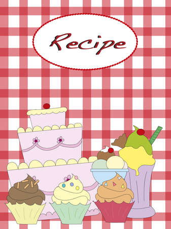 recipe Stock Photo - 17357184