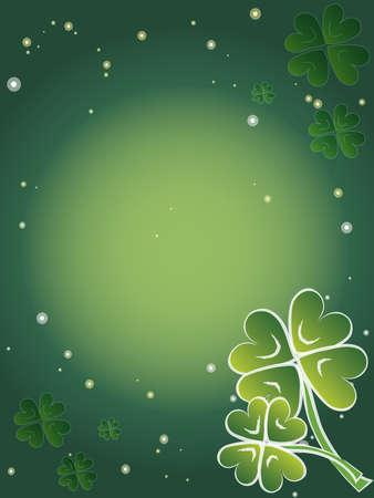 three leafed: st  patrick day