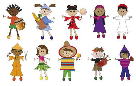 nationalities: children