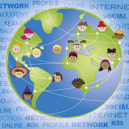 human relations: network  Stock Photo