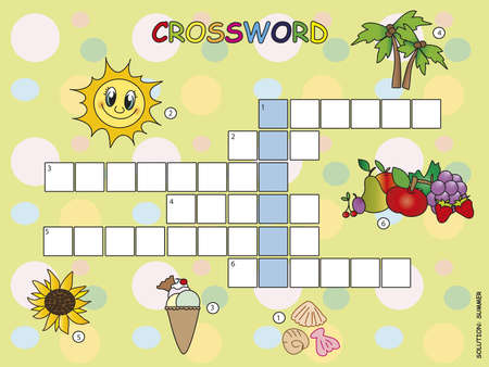 Crossword game  photo