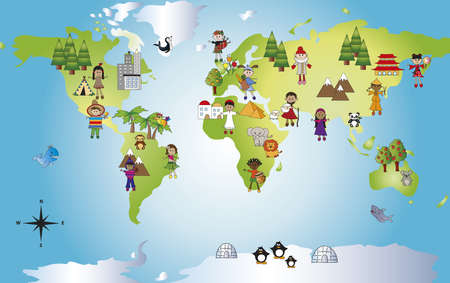 paz mundial: mundo divertido