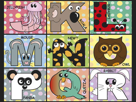 animal alphabet  photo
