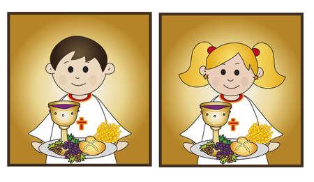 comunion: primera comunión