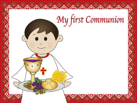 holy eucharist: first communion