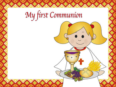 holy grail: first communion