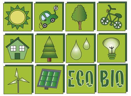ecology icons photo
