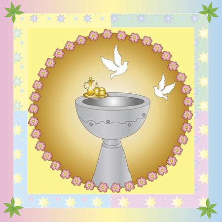 bautismo: bautismo Foto de archivo