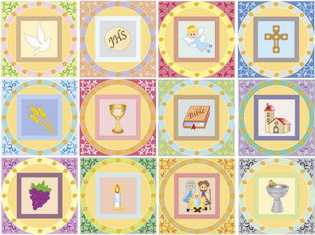 religion icons  Imagens