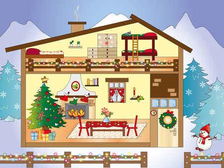 christmas home photo