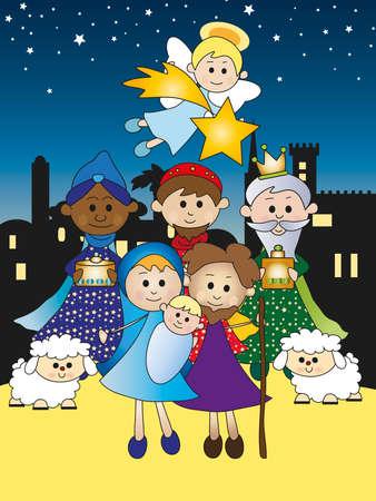 historias biblicas: natividad