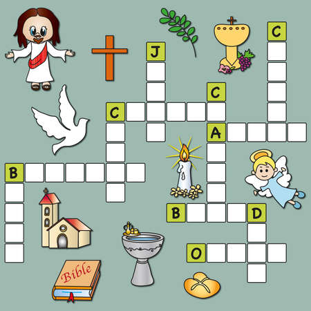 crossword: game for children  crossword