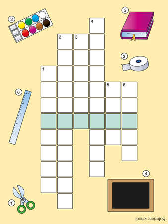 crossword for children