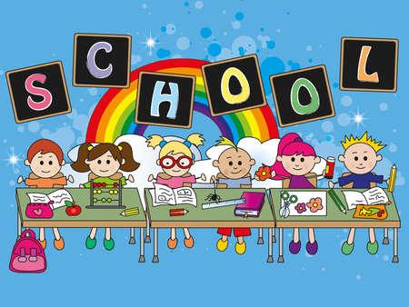 fantasy school photo