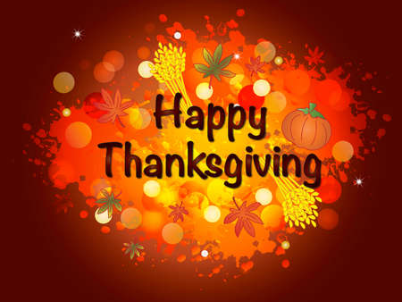 thanksgiving card: happy thanksgiving thanksgiving card with written