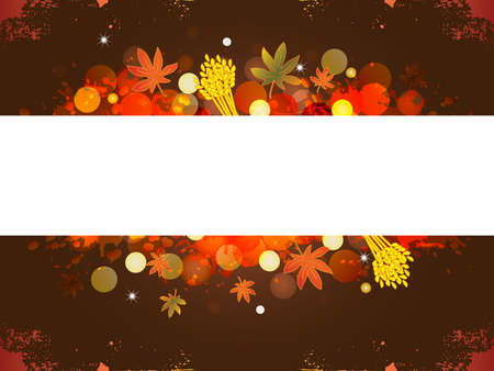 thanksgiving banner with space for text photo