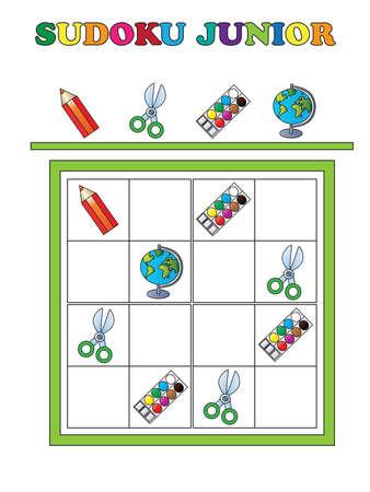 sudoku: game for children: sudoku junior