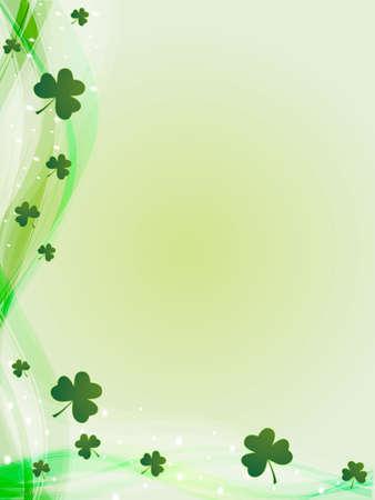 four leafed clover: st. patricks day
