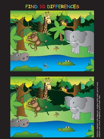 for children: easy game for children: maze Stock Photo
