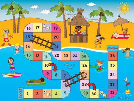 number of people: game for children: board game beach
