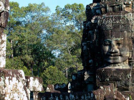 cambodge: Bayon face