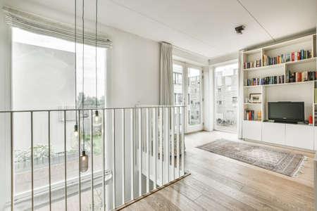 Amsterdam, Netherlands - June 2, 2020: Luxury interior design of a modern house