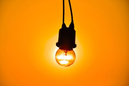 Sunset in Lamp photo