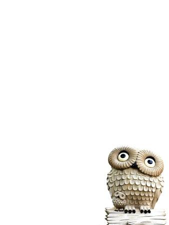 trinket: OWL STATUE.