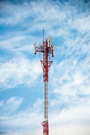 antennas of cellular communication photo