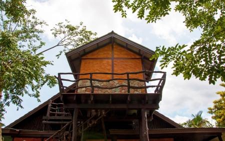 second floor: Wooden house second floor