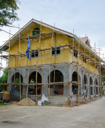 Home building under Construction. Stock Photo - 22585632