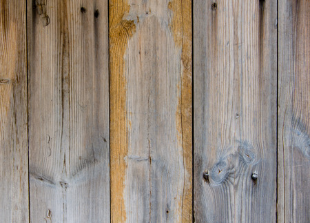 wooden planks texture with cracked color paint. photo