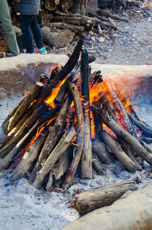 transformed: quema transformado en carb�n. Foto de archivo