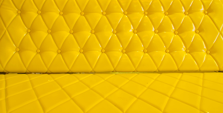 yellow sofa upholstery leather pattern . Stock Photo - 25266014