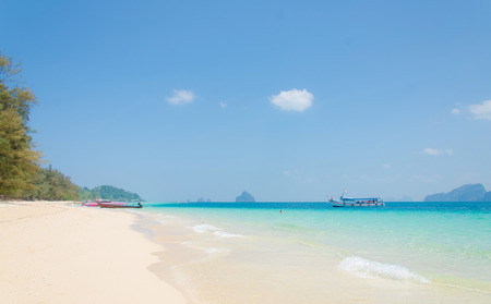 Tropical beach Andaman Sea, Thailand. photo