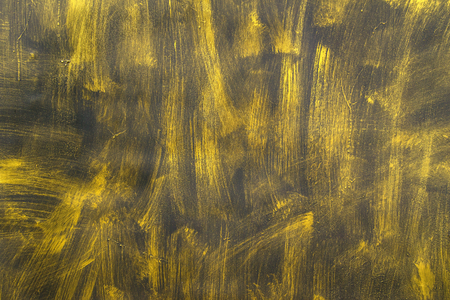 Painted Gold on metal texture for background. photo
