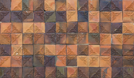Abstract mosaic tiles for background.